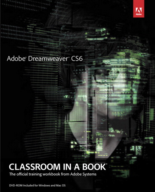 Adobe Dreamweaver CS6 Classroom in a Book
