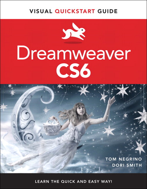 Dreamweaver CS6: Visual QuickStart Guide