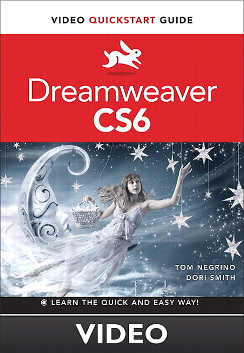 Adding Text to Your Pages: Dreamweaver CS6 Video QuickStart