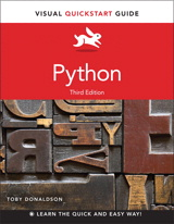 Python: Visual QuickStart Guide, 3rd Edition