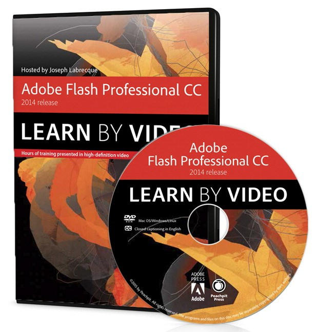 Adobe Flash Professional CC Learn by Video (2014 release)