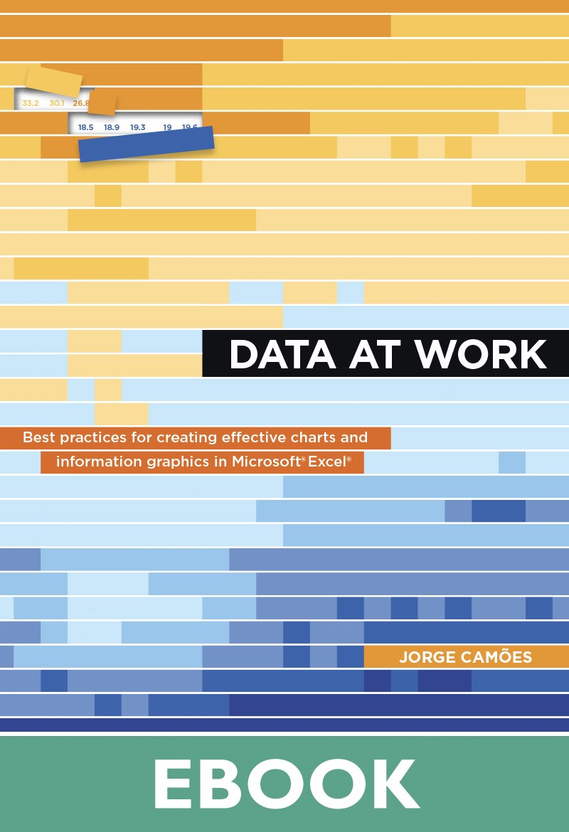 Data at Work: Best practices for creating effective charts and information graphics in Microsoft Excel