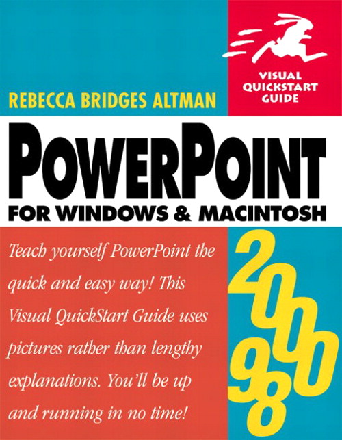 PowerPoint 2000/98 for Windows and Macintosh: Visual QuickStart Guide