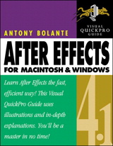 After Effects 4.1 for Macintosh and Windows: Visual QuickPro Guide