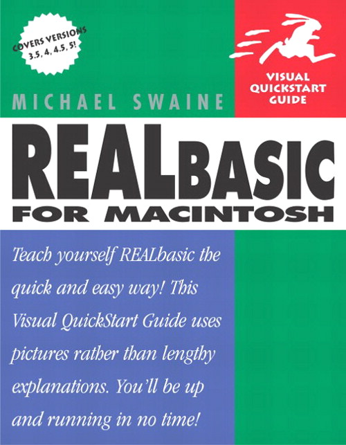 REALbasic for Macintosh: Visual QuickStart Guide