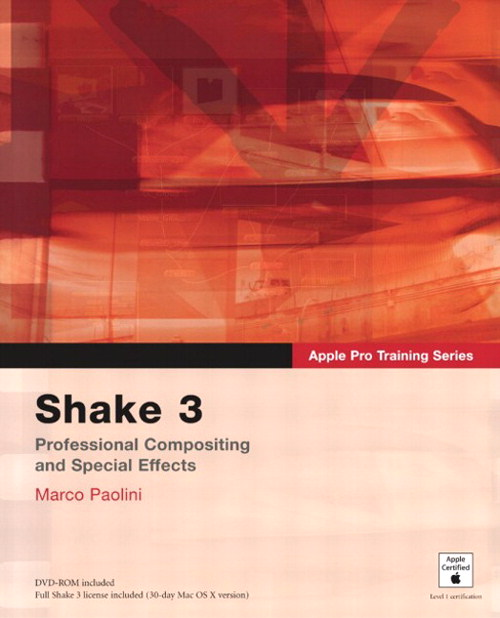Apple Pro Training Series: Shake 3