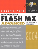 Macromedia Flash MX 2004 Advanced for Windows and Macintosh: Visual QuickPro Guide