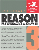 Reason 3 for Windows and Macintosh: Visual QuickStart Guide