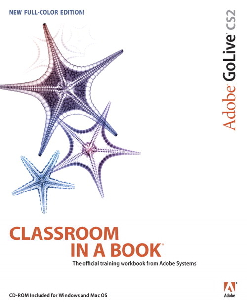Adobe GoLive CS2 Classroom in a Book