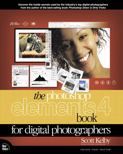 Photoshop Elements 4 Book for Digital Photographers, The