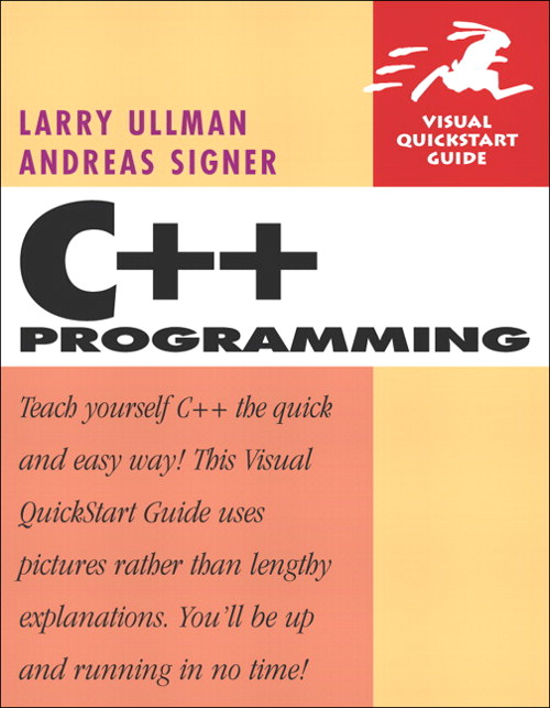 C++ Programming: Visual QuickStart Guide