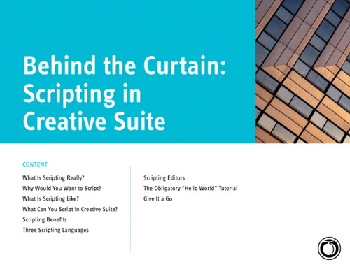 Behind the Curtain: Scripting in Adobe Creative Suite