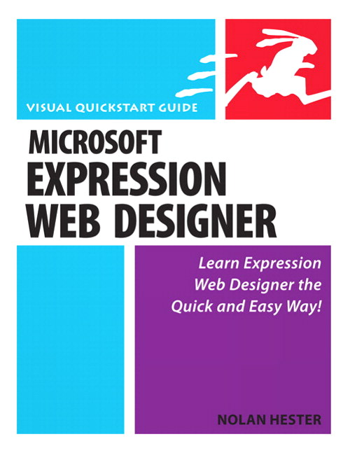 Microsoft Expression Web : Visual QuickStart Guide