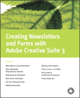 Professional Newsletters and Forms with Adobe Creative Suite 3