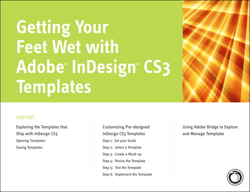 Getting Your Feet Wet with Adobe InDesign CS3 Templates