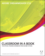 Adobe Dreamweaver CS3 Classroom in a Book