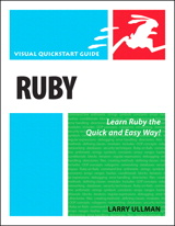 Ruby: Visual QuickStart Guide