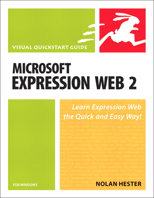 Microsoft Expression Web 2 for Windows: Visual QuickStart Guide