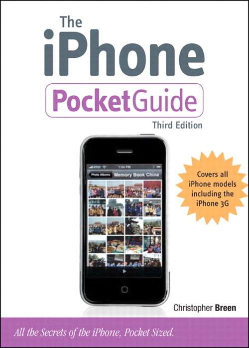 iPhone Pocket Guide, The, 3rd Edition