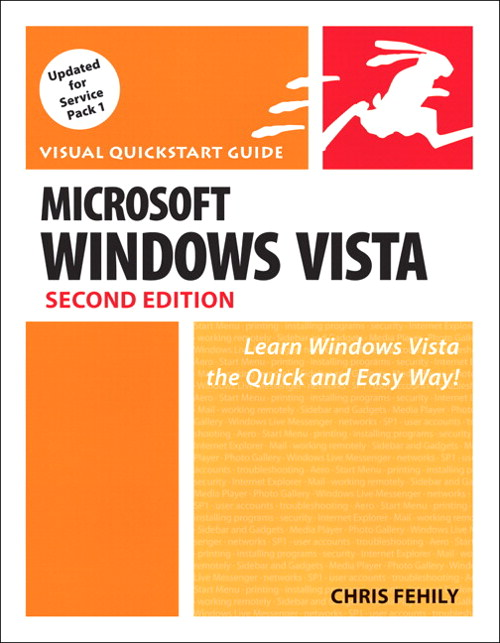 Microsoft Windows Vista: Visual QuickStart Guide, 2nd Edition