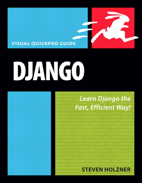 Django: Visual QuickPro Guide