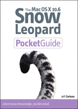 Mac OS X 10.6 Snow Leopard Pocket Guide