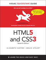 HTML5 & CSS3 Visual QuickStart Guide, 7th Edition