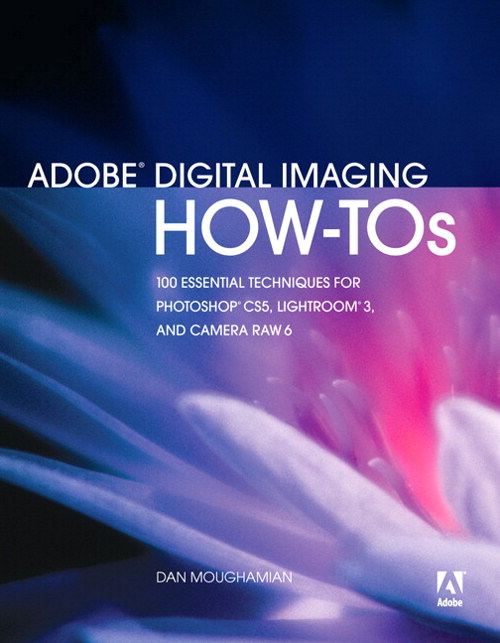 Adobe Digital Imaging How-Tos: 100 Essential Techniques for Photoshop CS5, Lightroom 3, and Camera Raw 6