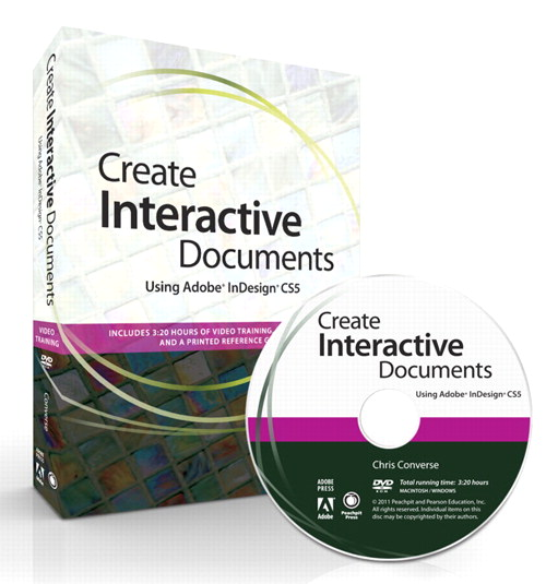 Create Interactive Documents using Adobe InDesign CS5