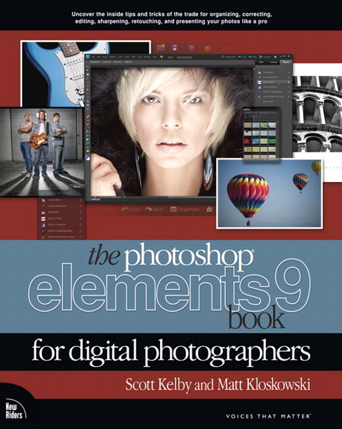 Photoshop Elements 9 Book for Digital Photographers, The