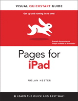 Pages for iPad: Visual QuickStart Guide