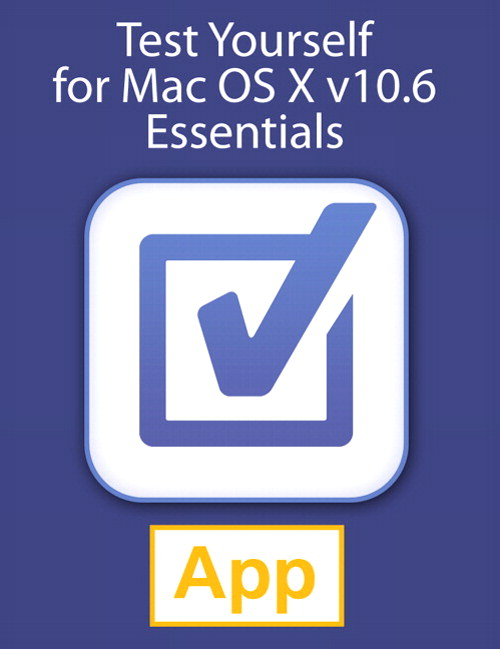 Test Yourself for Mac OS X Server v10.6 Essentials, Universal iOS App