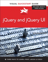 Blanchar jay. Jquery and jquery ui (visual quickstart guide) [pdf.