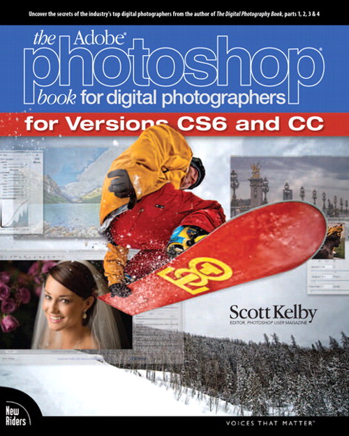Adobe Photoshop Book for Digital Photographers (Covers Photoshop CS6 and Photoshop CC), The