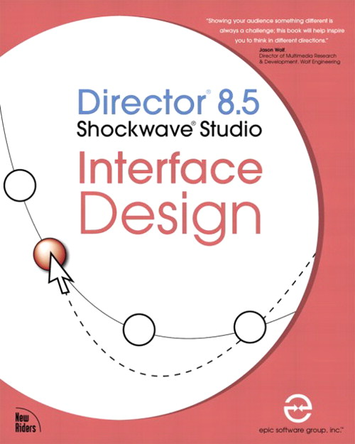 Director 8.5 Shockwave Studio Interface Design