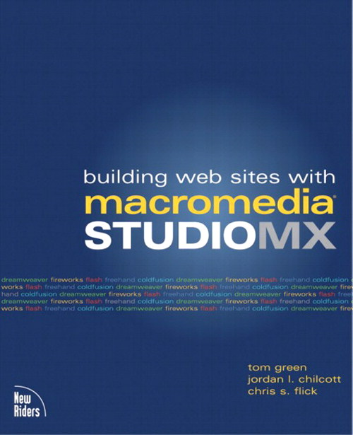 Building Web Sites with Macromedia Studio MX