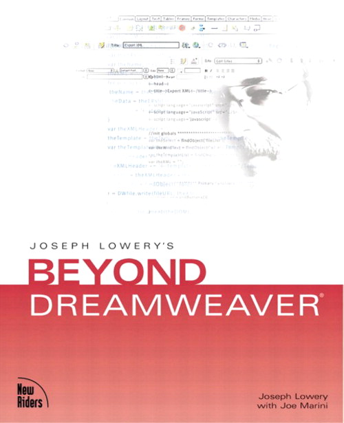 Joseph Lowery's Beyond Dreamweaver