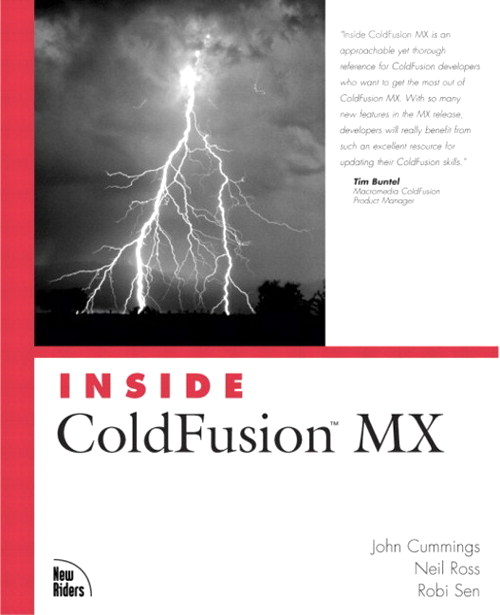 Inside ColdFusion MX