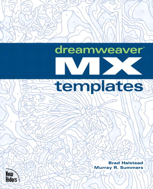 Dreamweaver MX Templates