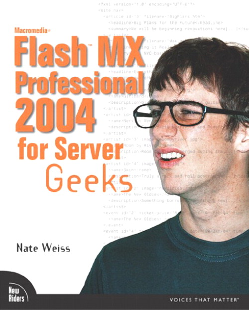 Macromedia Flash MX Professional 2004 for Server Geeks